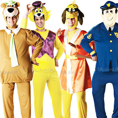 Hanna Barbera Mens Fancy Dress 1950s Cartoon TV Show Characters Adults Costume](Tv Show Characters Costumes)