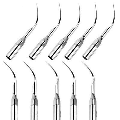 10x Dental Ultrasonic Piezo Scaler Scaling G1 Tips Fit Emswoodpecker Handpiece