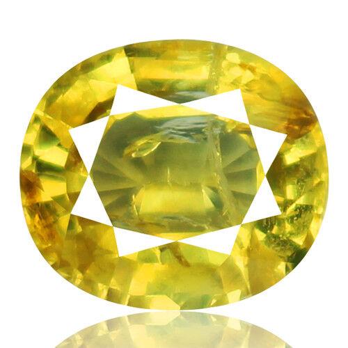 Tsavorite Family Garnet 3.78ct yellowish green color 100% natural earth mined