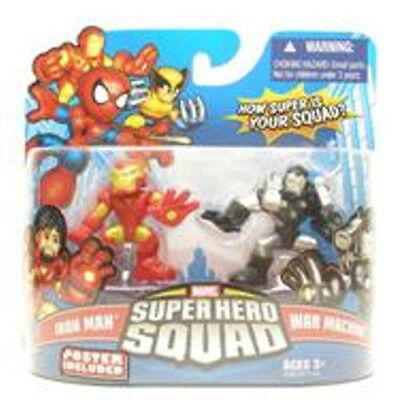 Marvel Super Hero Squad Iron Man (tony stark) vs War Machine