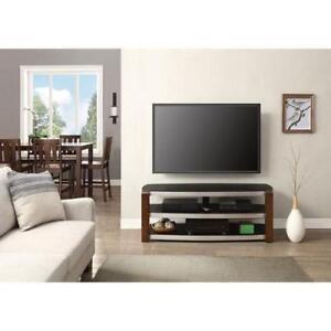 Whalen Contemporary Bench TV Stand for TVs up to 60'' - Black