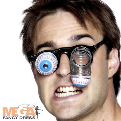 Droopy Eye Specs Adults Fancy Dress Novelty Halloween Costume Accessory Glasses  (Droopy Eye Glasses)