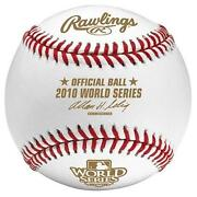 2010 World Series Baseball