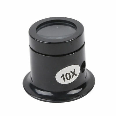 USA Best 10x Monocle Loupe Loop Magnifiers Eye Glass For Watch Repairs/Jeweler (Best 10x Jewelers Loupe)