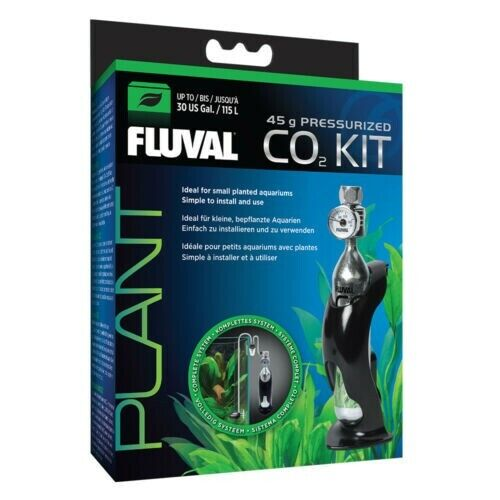 Fluval 45g Pressurized CO2 Kit