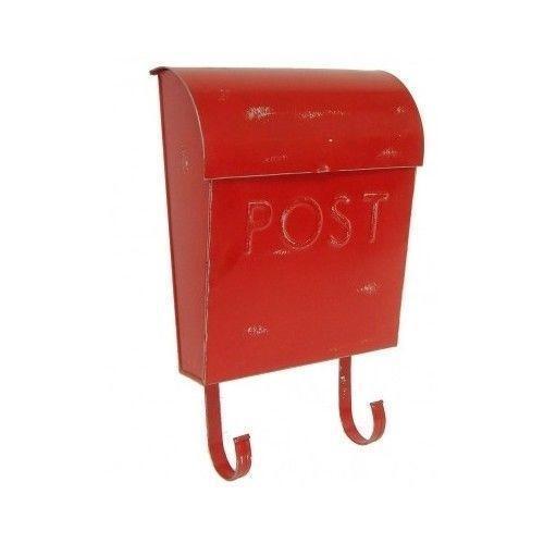 Red Post Mailbox Ebay