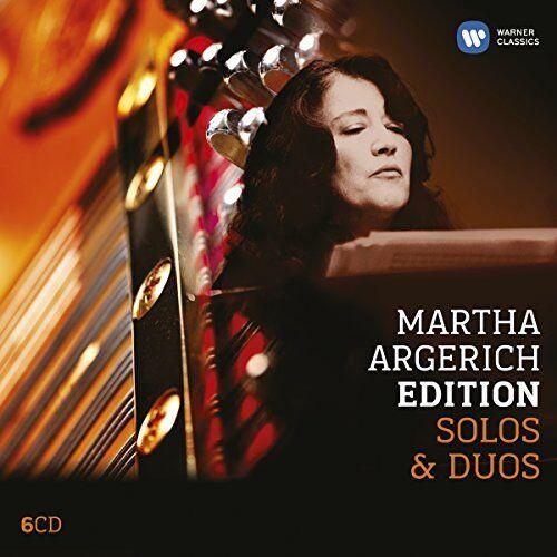 Martha Argerich - Martha Argerich  Solo and Duo piano [CD]