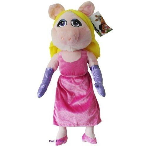 The Muppets - MISS PIGGY Large Plush Beanie Disney Soft Toy  *BRAND NEW*