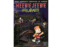 Bart Simpson's Treehouse Of Horror Heebie-Jeebie Hullabaloo by Matt Groening