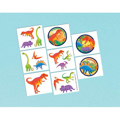 Dinosaur Tattoos - Birthday Party Supplies - Favours Loot Ideas - Prehistoric - Prehistoric Party Supplies