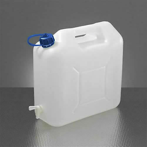 15 LITRE FOOD GRADE PLASTIC WATER JERRY CAN 15L CONTAINER BOTTLE POURING TAP