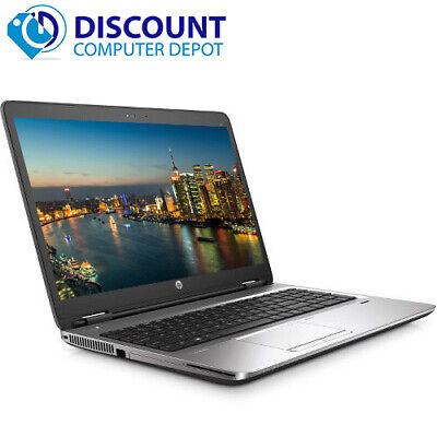 HP Laptop Computer Probook 650 G1 PC Intel Core i5 8GB 256GB SSD Windows 10 Pro
