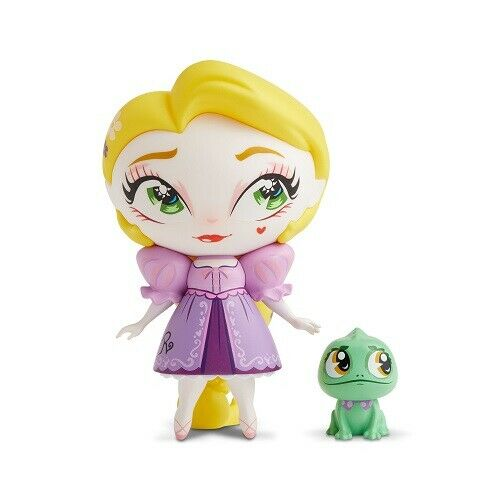 Enesco - Miss Mindy Design - Rapunzel with Pascal Vinyl Figurine, 7-inches