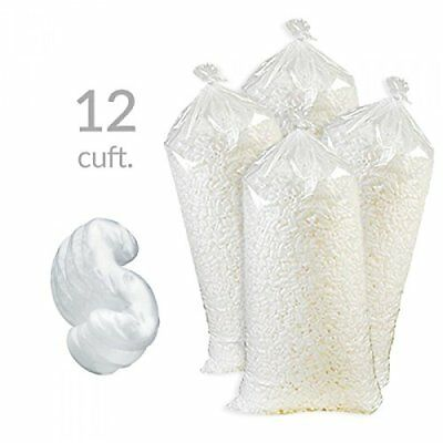 12 Cubic Feet Of New White Popcorn Packing Peanuts With Free Shipping