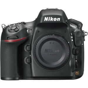 Rare, Nikon D800 E en excellent etat + 4 objectifs, Flash, etc.