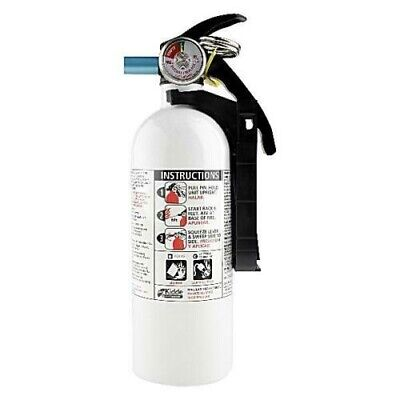 Fire Extinguisher Home Car Office Safety Kidde 5-bc 3-lb Disposable Marine Hot
