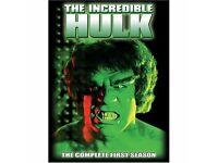 The Incredible Hulk TV series DVD boxsets Seasons 1 and 2
