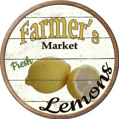 Retro Kitchen Decorations - Farmers Market Lemons 12