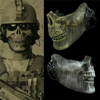 Maske Totenkopf Schädel Skull für Nerf Paintball Softair Halloween Karneval Top