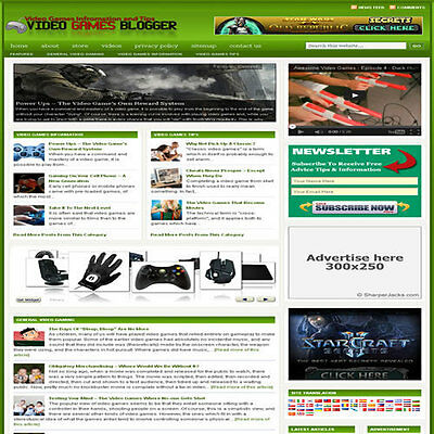 Established Arcade Affiliate Website Turnkey Business For Sale Free Hosting