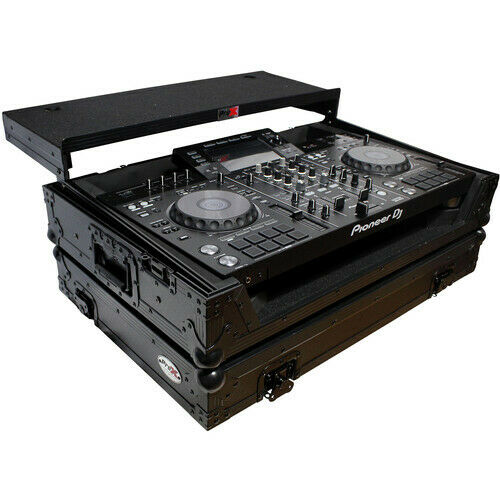 ProX Flight Case for Pioneer XDJ-XZ DJ System with Laptop Shelf and PennElcom Wh