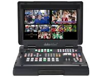 Datavideo HS-2200 6 input HD broadcast quality Mobile Studio - Brand New