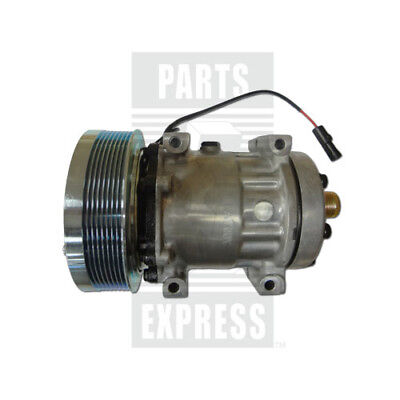 A//C Compressor w//Clutch for Sanden 4747 Case Vovlo /& Western Star NEW