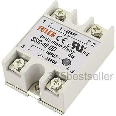 Single Phase Solid State Relay DC-DC SSR-40DD 40A DC3-32V DC5-60V
