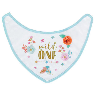 1st BIRTHDAY Boho Girl FABRIC BIB ~ Party Supplies Costume Guest of Honor (Birthday Girl Party Supplies)