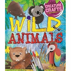 Wild Animals (Creature Crafts)-ExLibrary