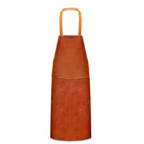 Leather Work Shop Apron Heat and Flame Resistant Heavy Duty Welding Apron