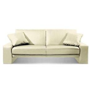 Faux Leather Sofa Bed EBay
