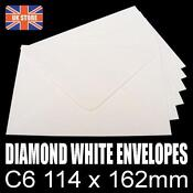 A6 White Envelopes