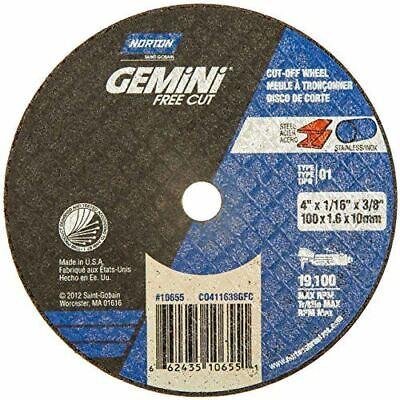 "NORTON 66252835554 CutOff Whl,Gemini,14/""x7//64/""x1/"""