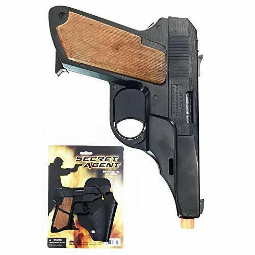 Secret Agent Toy Cap Gun 380 Pocket Pistol Semi-Auto Action Replica Theater Prop