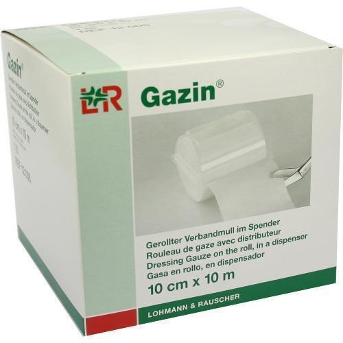 GAZIN Verbandmull 10 cmx10 m 8fach 1 St