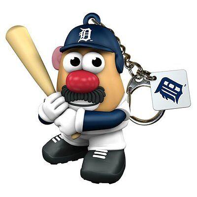 Detroit Tigers Mr Potato Head Key Chain Keychain Licensed MLB New 06429