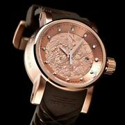 Automatic Mens 18K Gold Watch