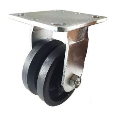 4 X 2 V-groove Caster - Rigid