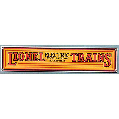 Lionel Trains Metal Sign   Collectible Railroad Art For Decorating Walls  Yellow