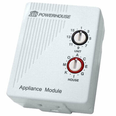 X10 Home Automation Plug-In Appliance Module, 3 Prong  NEW