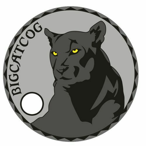 Pathtag   13031  -  Panther   Big  Cat   -geocaching/geocoin/  *Retired*