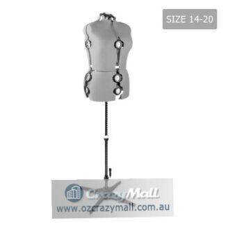 Adjustable Display Tailoring Model Grey
