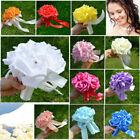 Foam Pink Wedding Bouquets