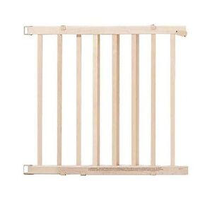 4 Baby Gates(3 Wooden, 1 Plastic)