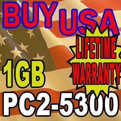 5300 667mhz Ddr2 Memory Module - DDR-2 DDR2 1GB PC5300 1 GB PC2-5300 667 MHz DESKTOP MEMORY RAM 240 PIN Module