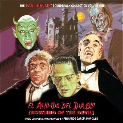 NEW Howling of the Devil Aullido del Diablo Soundtrack CD Naschy Horror Rare OOP