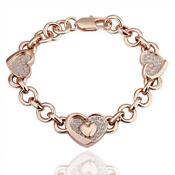 Solid Rose Gold Bangle