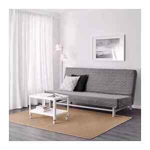 CANAPÉ-LIT IKEA BEDDINGE LOVAS avec housse grise