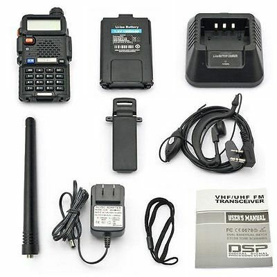 Portable Radio Scanner Handheld Police Fire Two Way Transceiver VHF FM EMS HAM  on Rummage